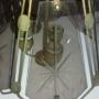 lampara de vidrio tallado