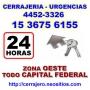 Cerrajeria Ituzaingo Llamenos 15 3675 6155  Zona Oeste
