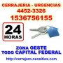 Cerrajeria Ciudadela Llamenos *15-3675 6155* 24 hs Zona Oeste