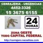 Cerrajeria Lomas del Mirador Llame [15-3675-6155] Urgencias