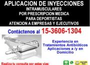 Aplicacion de Inyecciones Palermo Tfno. 15 3606 1304