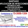 Aplicacion de Inyecciones Retiro Tel *15-3606-1304*