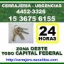 Cerrajeria 24hs San Antonio de Padua Llame *15-3675 6155* Urgencias