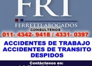 Accidentes de transito Barracas Llame al 43429418  accidentes de transito capital federal