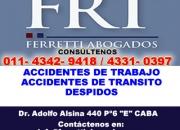 Accidentes de Trabajo Palermo Telef (4342-9418) accidentes de trabajo salud ocupacional