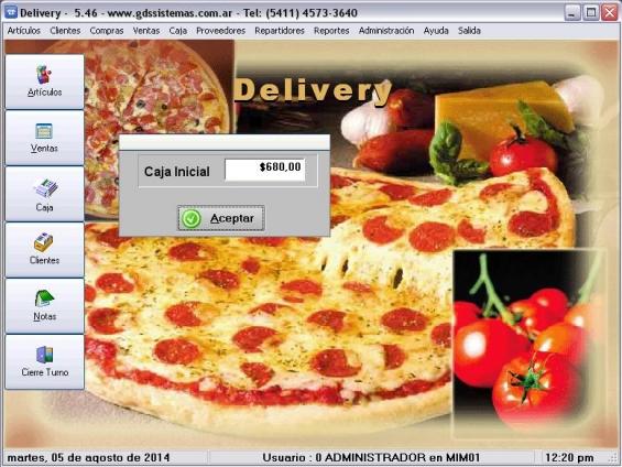 Software para gestión de delivery: pizza, empanadas, sushi... accesible y fácil de usar