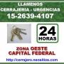 Cerrajeria en Ramos Mejia Tlfno *15-2639 4107* Zona Oeste