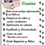 PELUQUERIA CANINA...