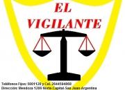 EL VIGILANTE (Seguridad Privada) de San Juan-Argentina