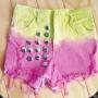 fabrica jeans shorts femenino