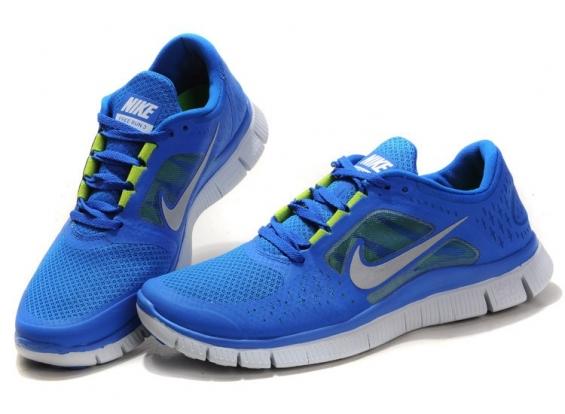 Nike - free 5.0 azul - 2015.
