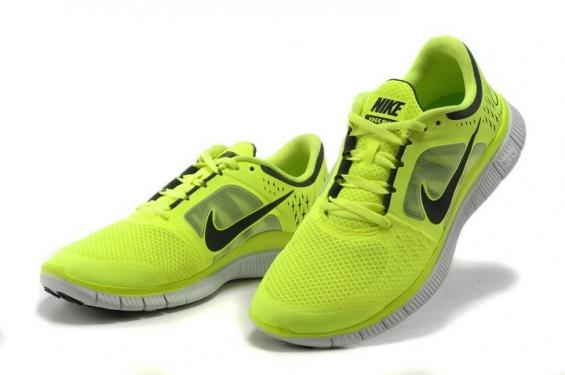 Nike FREE 5.0 + amarillo