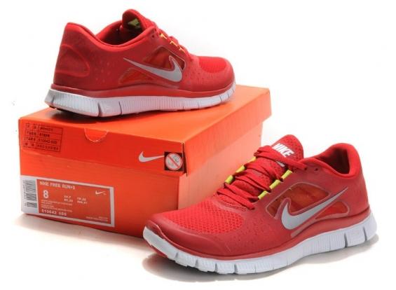 Nike - free 5.0 rojo - 2015.