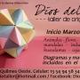 Taller de Origami en Berazategui y Quilmes