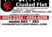 CiudadFlet servicio empresarial flete y miniflete