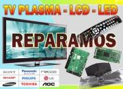 Servicio Tecnico TV-LED-LCD-PC-AUDIO..presupuesto-reparamos a domicilio.