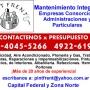 Pintura de edificios Trabajos en alturas en Palermo Llame 15-4045 5266