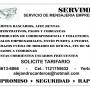 SERVIMENS SERVICIO DE MENSAJERIA EMPRESARIAL.
