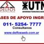 clases de apoyo ingreso utn en Barrio Norte - Tfno. [5254-7777] delfosweb