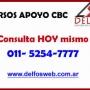 cursos de apoyo cbc algebra en Barrio Norte  Telef (5254 7777) Delfosweb