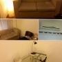 Consultorio cómodo. iluminación ideal para logar un buen clima. sofá de 2 plazas. aire acondicionado.