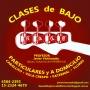 CLASES de BAJO en CABALLITO y VILLA CRESPO – PROFESOR – TOCA LO QUE TE GUSTA – TODO ESTILO