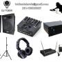 Alquiler equipos de Audio y Iluminacion para eventos