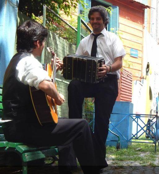 Bandoneon y guitarra tango moretta yofre