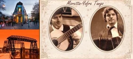 Moretta yofre tango show