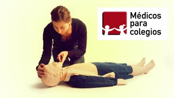 Médicos para colegios, brinda cursos rcp. 4774-0041