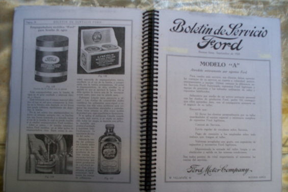 Contenido editorial manual ford a