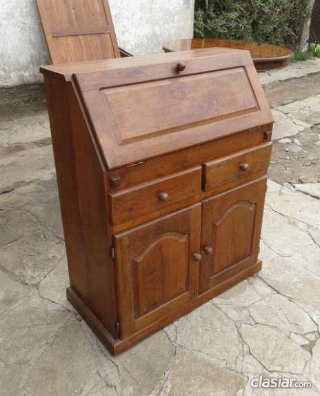 Para coleccionistas mueble secret en algarrobo grueso elegido con su ...