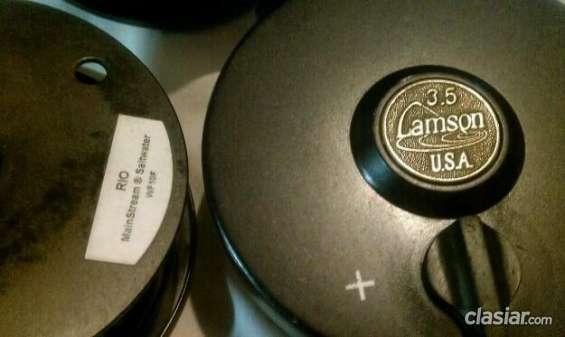 Excelente reel lamson 3.5 made in usa imperdible!