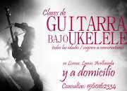 Clases de Guitarra, Bajo y Ukelele.