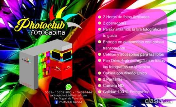 Vendo!!! cabina de fotos photoclub mas en mercado libre