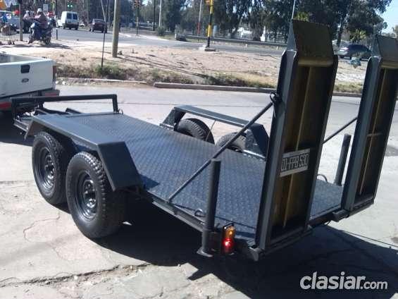 Carreton para minicargadoras y bobcat