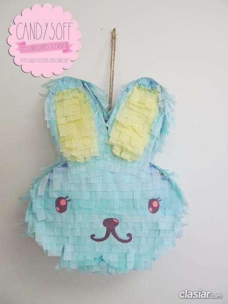 Esta es una verdadera oportunidad piñata personalizada conejo espero tu oferta.