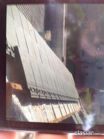 En buen estado vendo tejas planas classic negras marca cerro negro el mejor precio del mercado.