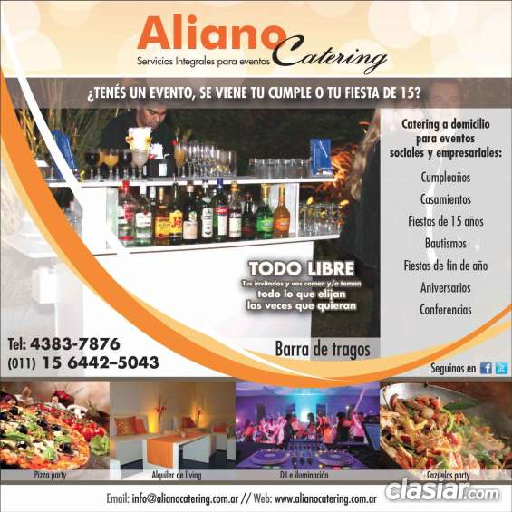 Pizza party y barra de tragos capital zona norte pilar casamiento 156442 5043