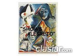 Shows y artistas. tel  156876-4513