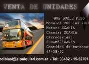 Ventade omnibus doble piso