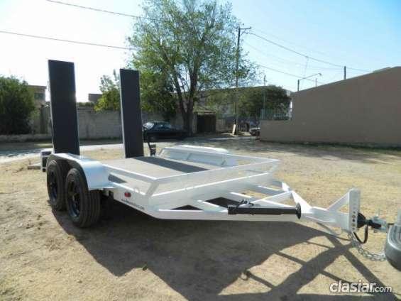 Buen precio! trailers para bobcat neumáticos en buen estado.