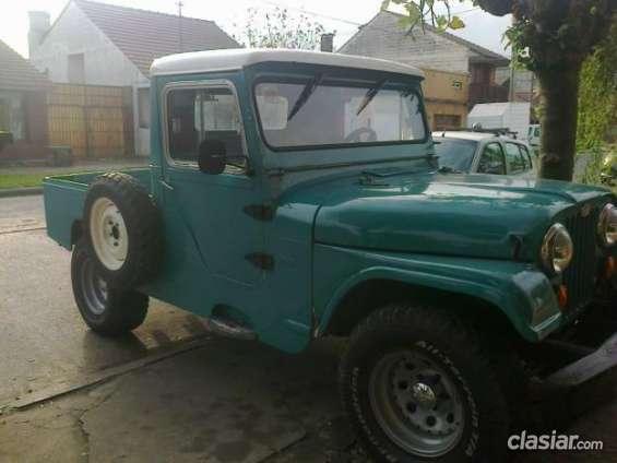 Vendo jeep ika año 65 muy bien cuidado.