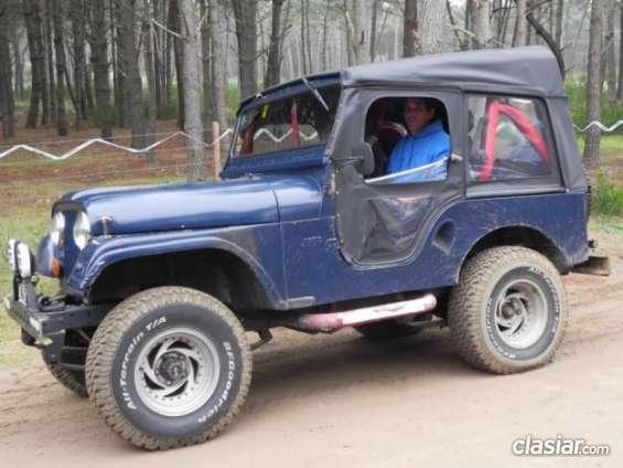 Vendo jeep ika corto 71. en excelente estado.