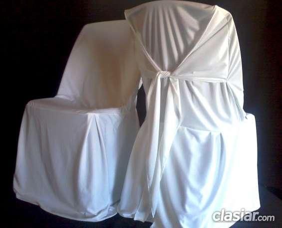 Alquiler de cubresillas , fundas para sillas