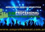 SALONES BAILABLES: MEDICOS ,AMBULANCIAS Y TRASLADO POR CUALQUIER EVENTUALIDAD 4774-5878