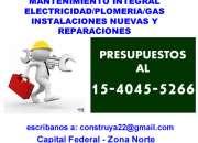 Gas electricidadplomeriainstalaciones nuevas zo…