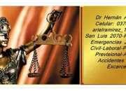 Abogados en Posadas 0376154379421 Derecho Penal 24hs
