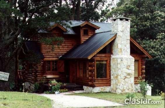 Construcción de cabañas en madera casa de troncos en bariloche