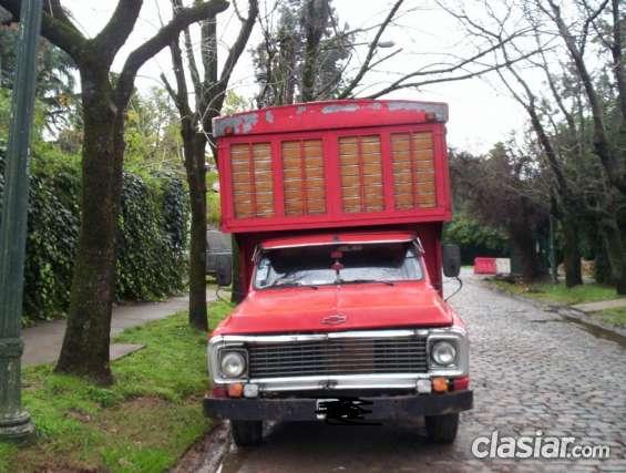 Vendo camion chevrolet c 30 titular gnc (olivos)